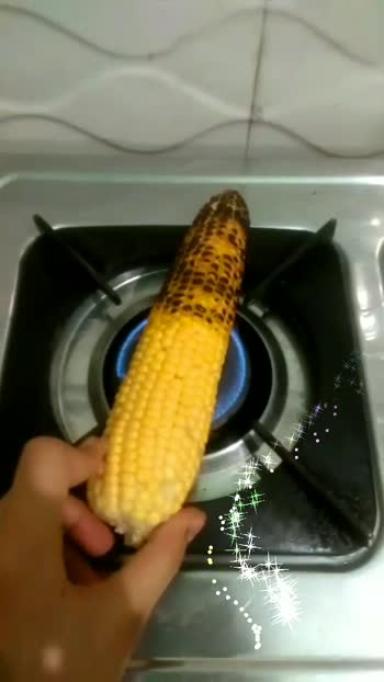 Roasted corn 🌽