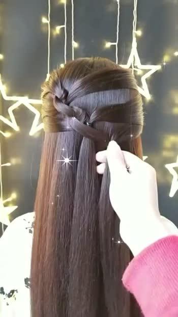 amazing hairstyle for girls#trending #hairstyle #roposostar #atmanirbharbharat