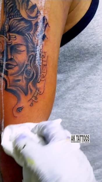 mahadhev tattoo #tattoo #tattooed #tattoo-lover #satara