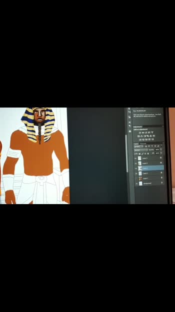 #wip #illustration #egypt #pharaoh