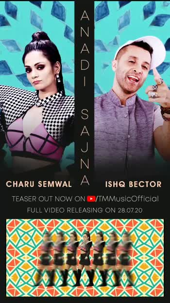 Here's presenting a quirky teaser of 'Anadi Sajna', a groovy track by ishqbector and charusemwal  Stay tuned, for the video on 28th July 2020  #anadisajna #ishqbector #charusemwal #jointhecult #tmmusic #nonfilmmusic #localvocals