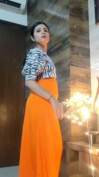 Styling orange skirt - Part 2 #stylingvideo #styleinfluencer ##fashionblogger
