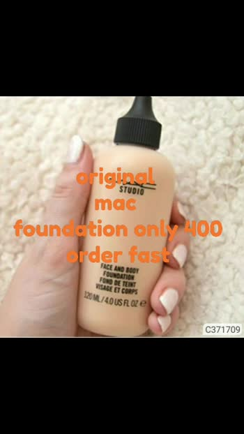 mac original foundation only 400rs order fast limited stock cod available #maccosmetics
