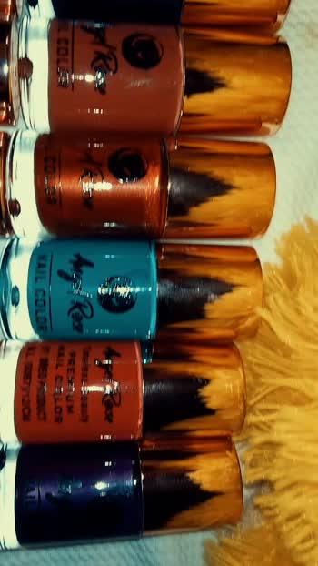 pick any nail paint at rs 40...wp at 8376063041....grab it soon....#longlasting #glitternails #nailart #nailpolish #roposostar #roposo-beats #roposo