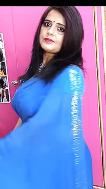 #seemajaitly#Makeup#lightmakeup#Bluesaree#Sareedraping#perfectsareedaraping#seffonsaree#Bluesari