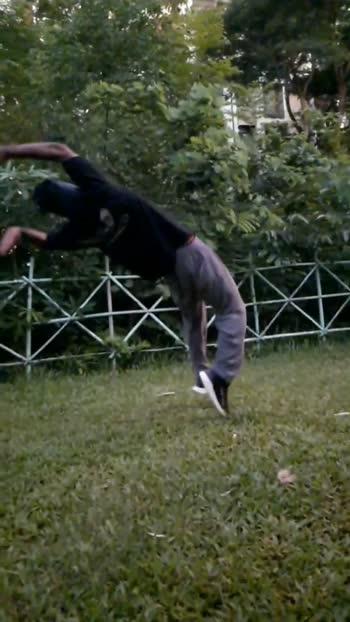 new flip  #backhandspring #stunts #parkourlife