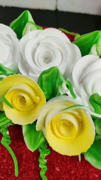Happy birthday#cake-lover #cakelover #cakedecoration #cakedecorating @roposocontests @roposotutorial
