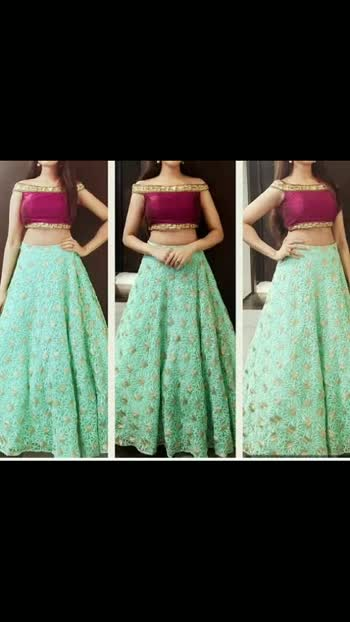 crop top watch it  #crop #top with #skirt designs @kashyap530s