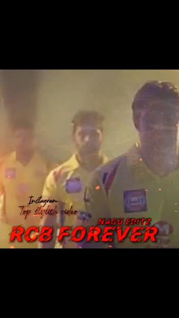 RCB forever#royalchallengersbangalore #rcbfans #rcb-kohli