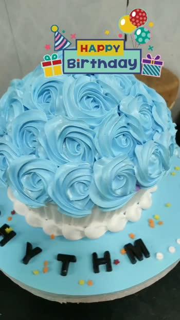 happy birthday #cakes #cakedecoration #cakedecorating #cakechallenge @roposocontests @roposotutorial