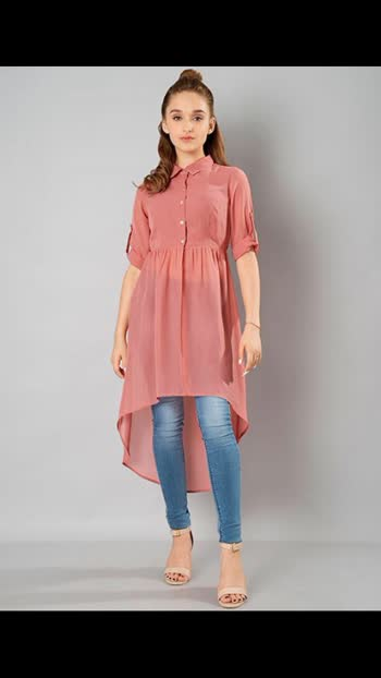 #top #kurti #kurtidress #kurta #shirt #highlowdress #highlowdresses