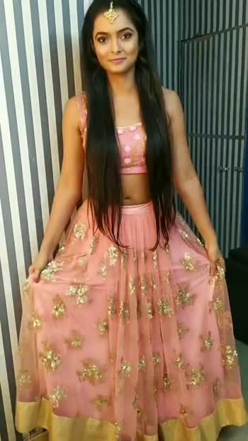 let's boomrang #boomrang #tvshows #actor #onset #roposostar #makeup #hair #lehnga #lehngacholi #hairstyle #jwellery #beauty #beautifulgirl #beautyblogger