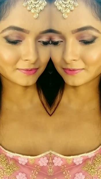 love ❤️#eye #hairstyle #makeup #lehnga #onset #tvshow #actor #actorslife #tv #love
