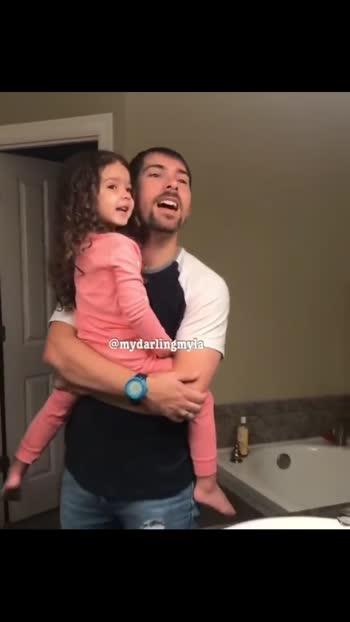 dad and daughter after 1year.. #dad #daughter #daughter-dad #daughterlove