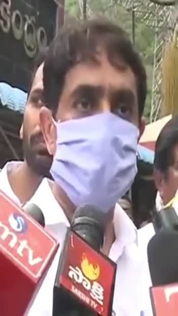 #bugganarajendranathreddy about #fireaccident in #srisailam