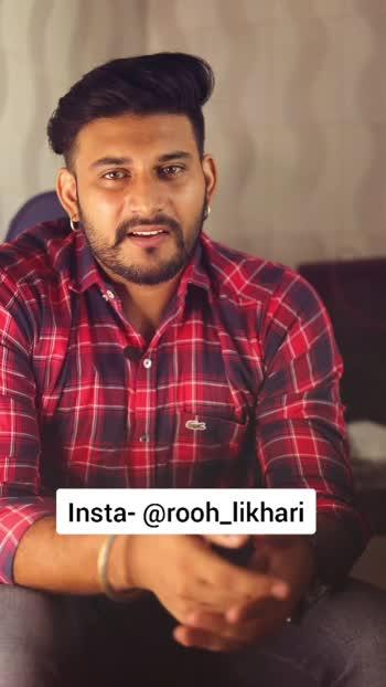 mrno pehla mr k sajjna... #rooh_likhari #rooh #roohdarifilms #poetrylines #roposo #roposostar #risingstar #keepsupporting