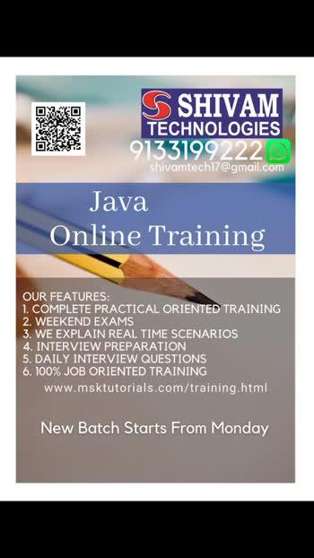 shivam  technologies  online  trainings