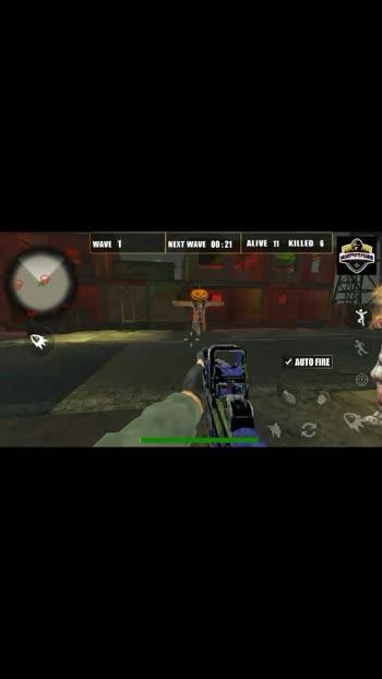 Zombies ke sath maha  yudh pata bhi kya go ga #violent harsh gamer
