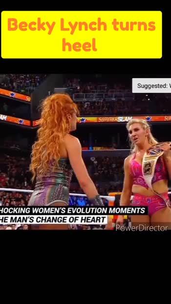 Becky Lynch turns heel