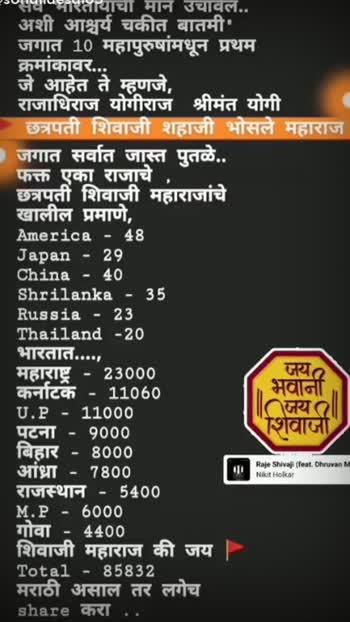 #jaybhavani #jayshivaji #