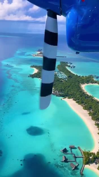 Maldives from a new perspective#tranding #trandingvideo #travel #roposostar