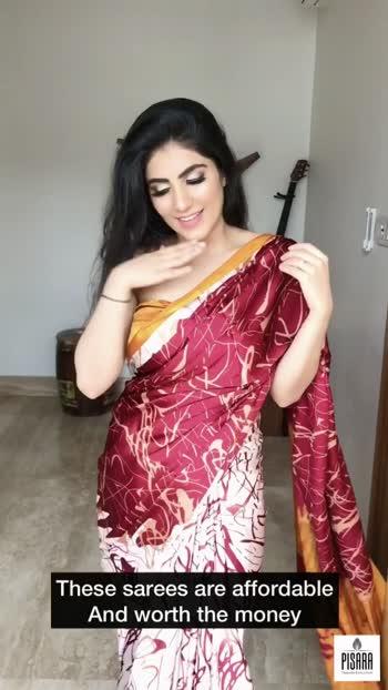 Styled my saree in 4 different ways #saree #sareestyling #stylingtips #juhichawlaa