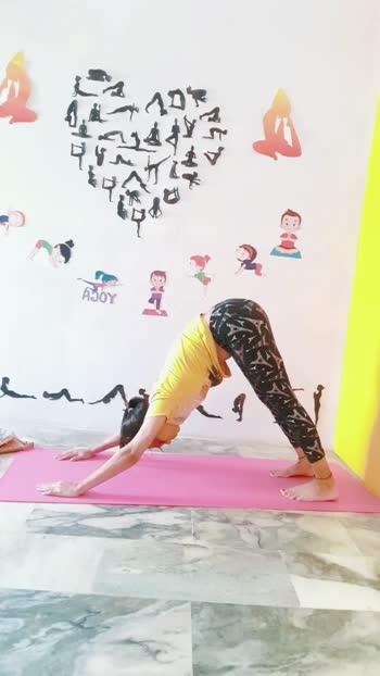 yoga for backpain  #yogaforbackpain #yogaflow #yogawitharchu #roposostar #fitindiamovement #backworkout