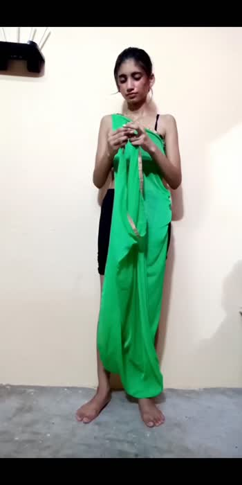 Party? but no dress? Fikar not! Make one with your Dupatta #dupattastyling #fashion #fashionblogger #fashionquotient #fashionista #styleblogger
