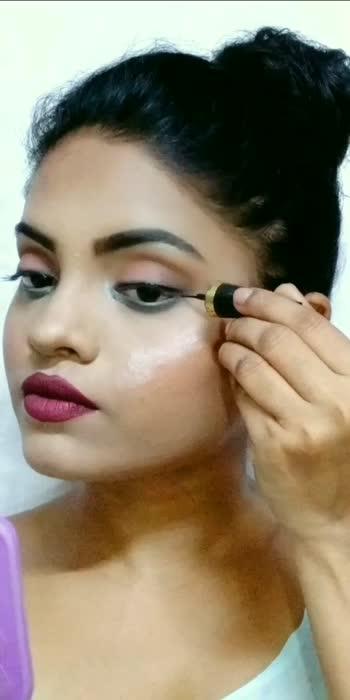 #tutorialvideo  #makeuptip #smokeyliner #toposostar #roposo #makeuplooks