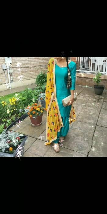 plain punjabi suit with heavy phulkari dupatta, #diamond , #punjabisuitsdesigns , #punjabisuitsalwar , #phulkaridupatta , #dupatta , #dupattasuits , #fashion , #fashionquotient