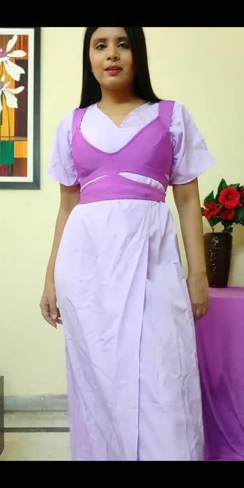 Styling Maxi as a Dhoti style Dress ! #maxidress #dhotistyle #fashionvideo