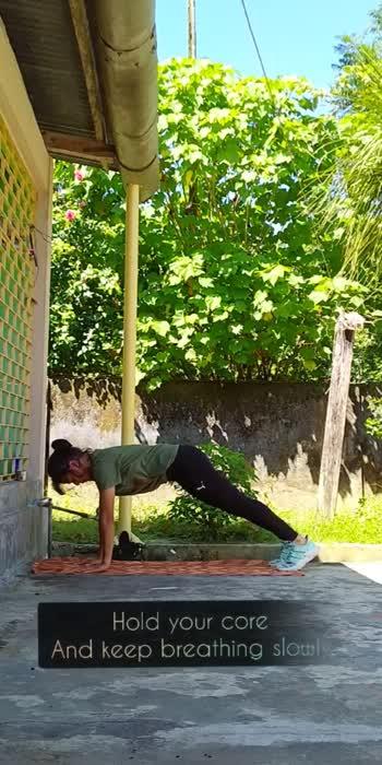 Plank variation