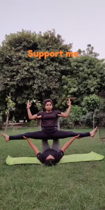 #rosopostar #rosopoindia #partneryoga #seemawithyoga#foryoupage #trendingvideo #fitindiamovement