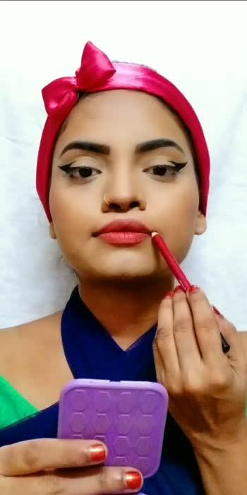 #liptutorial #makeupvideo #makeuptutorial #roposo