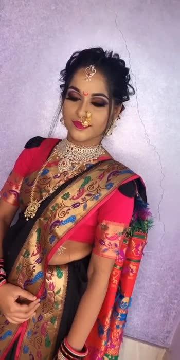 folllw me for more videos #weddingwear #weddingjewellery #weddingvibes #weddingvideo #weddingdress #weddingphotography #weddingseason #weddingsaree #weddingsutra #bridalmakeupartist #bridal-jewellery #bridallehengacholi #bridalfashion #bridallook #jarichisari #bridalmakeover #bridalshoot #bridalgoals #marathiroposo #marathisong #marathimulgi