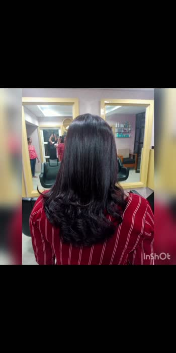 permenent blow dry done by glamup ladies salon and spa,kuravankonam,tvm.for booking 7902270227,7902210221
