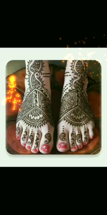 Beautiful Mehandi Design...