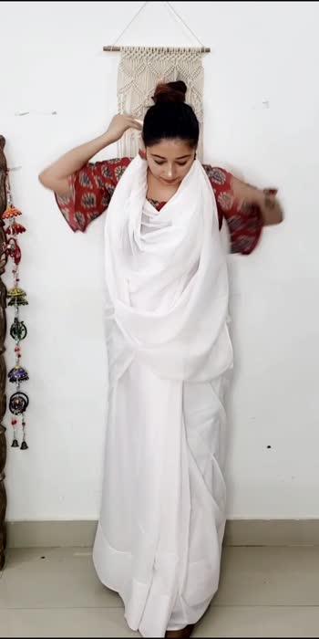 Saree for Office #fashionfileswithshiwangi  #sareestyling