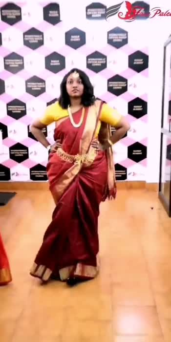 Face Palette students | Impromptu Saree fashion show after learning saree draping