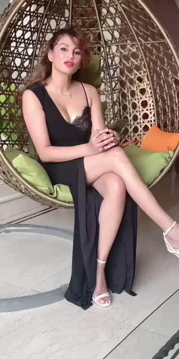 black dress very hot