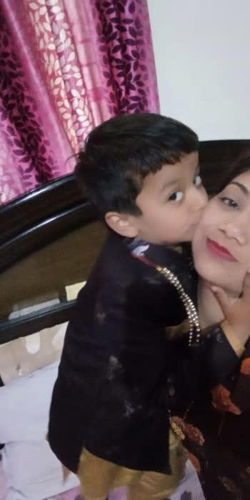 my love. my lifeline. my husband & my son