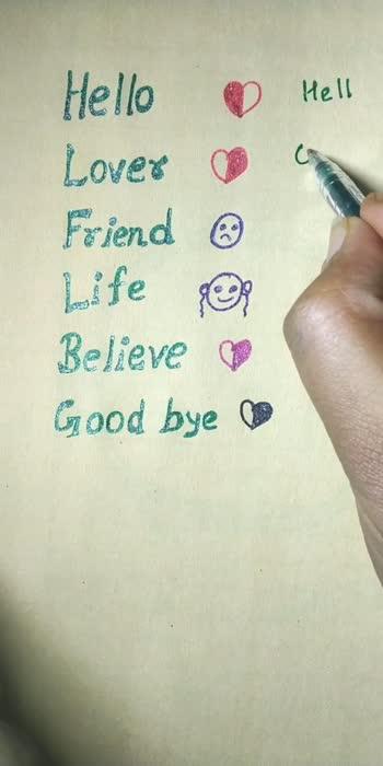 #hello #lover #friends #life #believe #goodbye #ahaeducationclub