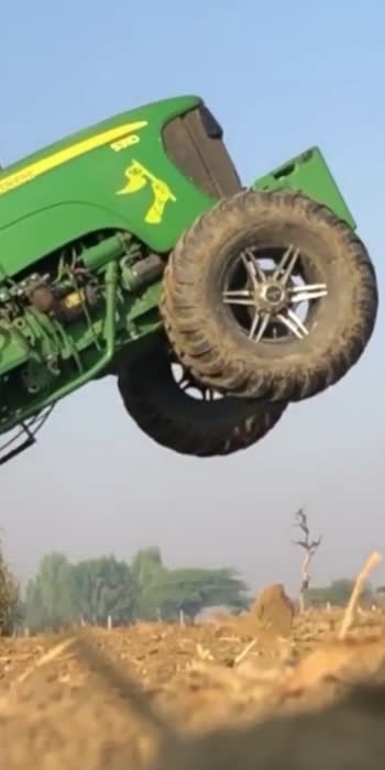 Tractor 🚜 stunt #Stunt