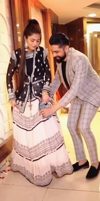 Shilpa and Sahil#couplegoals #couplelove #longhairunicorn7