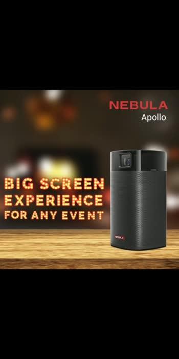 Nabula Apollo Smart Mini 200ANSI Portable Projector Available @mgviplounge #Nabula #projector #portable #portablecinema #cinema #technology #gadgets #gadgetfreak Call For More Details 9099880077