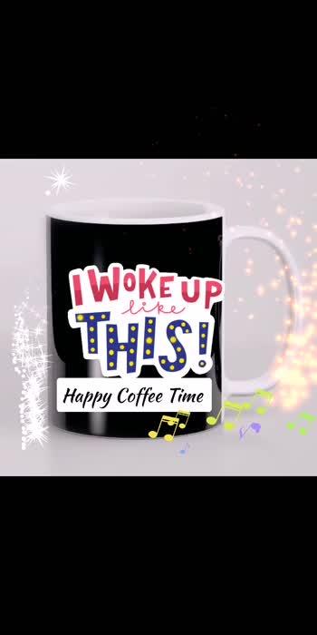 #coffeemug #cofeeaddict #coffindance #coffee #coffeetime #coffeetime #roposo-beats #rosopostar #goodmorning