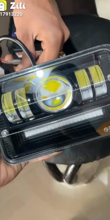 Splendor projector headlights with cops light 😍