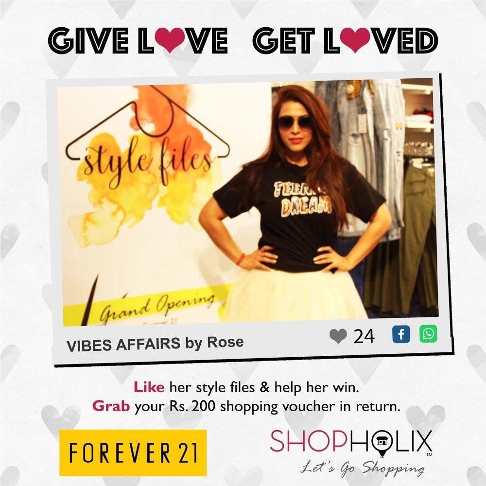 @forever21 @shopholix go to shopholix Facebook page and give maximum likes