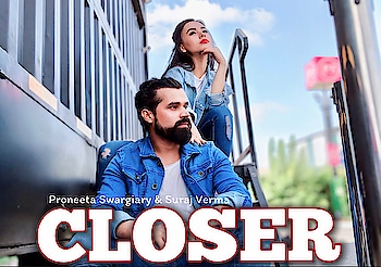 """come """"CLOSER"""" ... Cuz our new video drops on Wednesday at 10am. Stay tuned !! To watch more videos SUBSCRIBE 🔔 to my YouTube channel.  Link in bio👆🏻 . . . #closer #chainsmokers #dancecover #proneetaswargiary #vijaypattery #proneetavijay #choreographer #dancedirector #songs"""