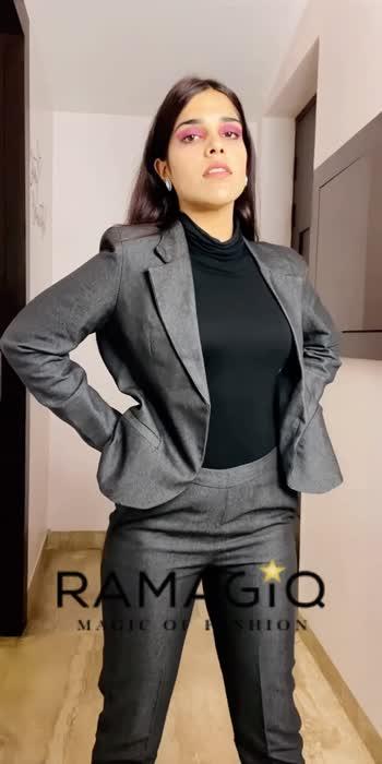 Buy this Pant Suit on our website now! ❤️ #fashionquotient #ramagiq #pantsuit
